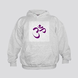 The Purple Aum/Om Kids Hoodie