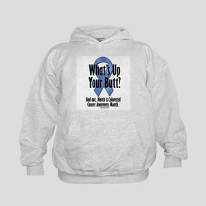 Colorectal Cancer Awareness Kids Hoodie