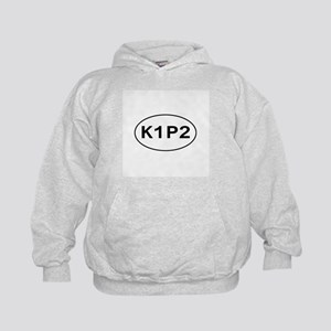K1P2 - Knit One Purl Two Kids Hoodie