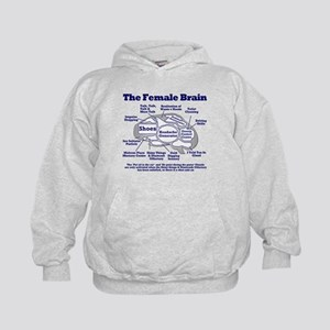 The Thinking Woman's Kids Hoodie