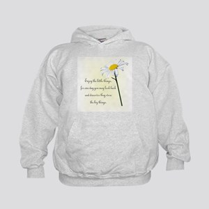 Little Things Daisy Kids Hoodie