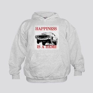 AFTM Happiness Is A Hemi Kids Hoodie