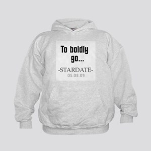 To boldly go... Kids Hoodie