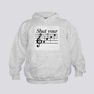 Shut your face Kids Hoodie