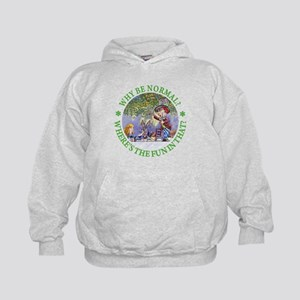 MAD HATTER - WHY BE NORMAL? Kids Hoodie