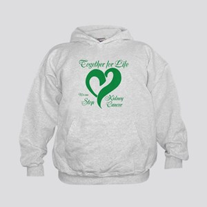 Personalize Kidney Cancer Kids Hoodie