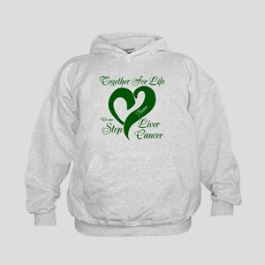 Personalize Stop Liver Cancer Kids Hoodie