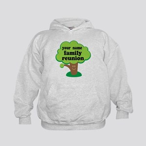 Personalized Family Reunion Kids Hoodie