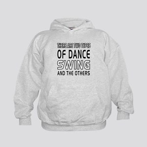 Swing Dance Designs Kids Hoodie