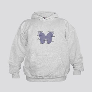 Inspirational Butterfly Hoodie