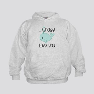 Whaley Love You Kids Hoodie