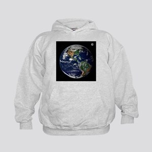 art Earth from space NASA Hoodie
