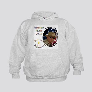 Welcome Home Daddy Kids Hoodie