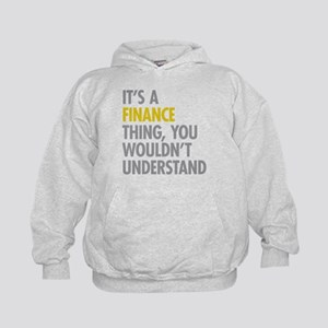 Its A Finance Thing Kids Hoodie