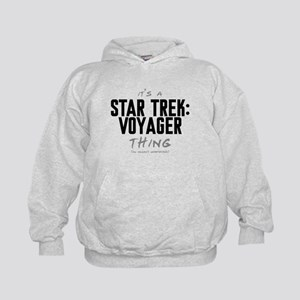 It's a Star Trek: Voyager Thing Kid's Hoodie