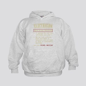 Electrician Funny Dictionary Term Sweatshirt