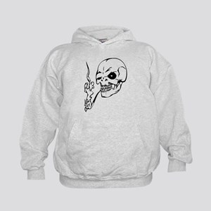 skull no smoking Sweatshirt