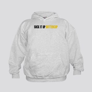 Suck it Up, Buttercup Kids Hoodie