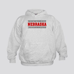 'Girl From Nebraska' Kids Hoodie