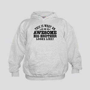 Awesome Big Brother Kids Hoodie