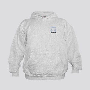 Anonymouse Chat Icon Kids Hoodie