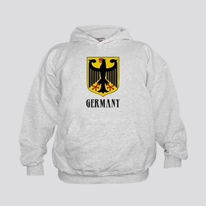 German Coat of Arms Kids Hoodie