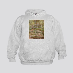 Monet's Japanese Bridge and Water L Sweatshirt