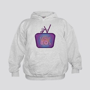 I Love 80's TV Sweatshirt