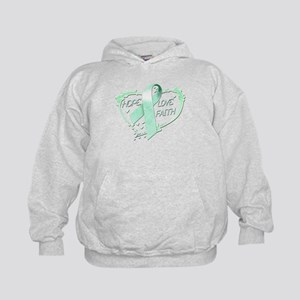 Hope Love Faith Kids Hoodie