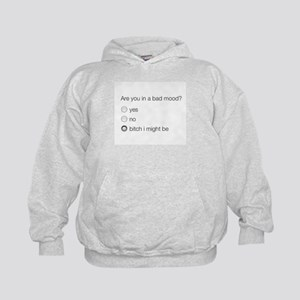 Are you in a bad mood ? Kids Hoodie