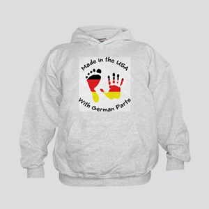 Made With German Parts Kids Hoodie