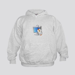 Computer Monitor Mouse Hoodie