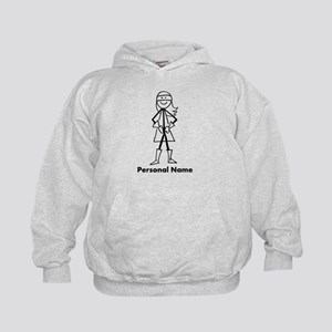 Personalized Super Girl Kids Hoodie