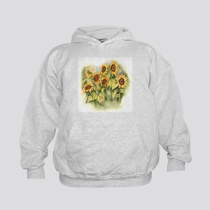 Field of Sunflower Kids Hoodie