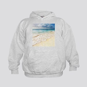 Beautiful Beach Kids Hoodie