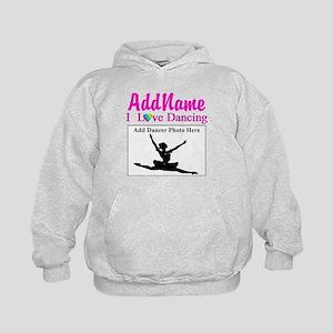 a4a8cc913 Personalized Dance Kids Hoodies & Sweatshirts - CafePress
