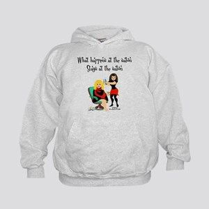What Happens At The Salon Kids Hoodie