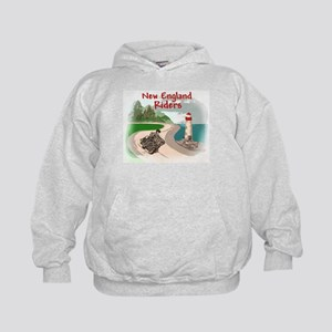 Mountains & Sea Logo Items Kids Hoodie