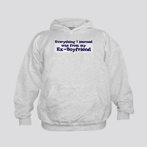 Ex-Boyfriend : Everything Kids Hoodie