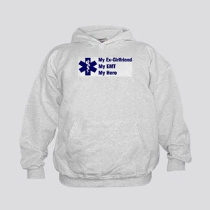 My Ex-Girlfriend My EMT Kids Hoodie