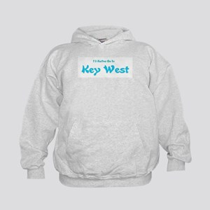 I'd Rather Be...Key West Kids Hoodie
