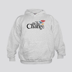 Be the Change - Earth - Red Vine Kids Hoodie