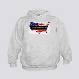Love it or leave it Kids Hoodie