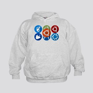 ubuntu distros Sweatshirt