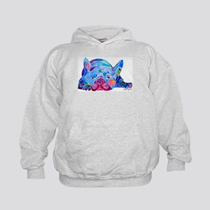 French Bulldog Frenchies Kids Hoodie