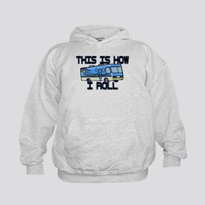 How I Roll RV Kids Hoodie