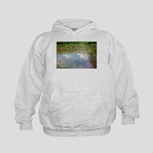 Water Lillies (The Clouds) Kids Hoodie