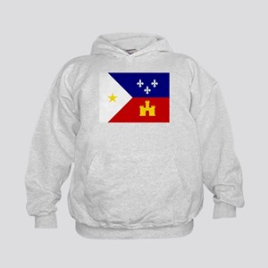 Flag of Acadiana Louisiana Sweatshirt