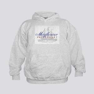 Mayflower Descendant - Kids Hoodie