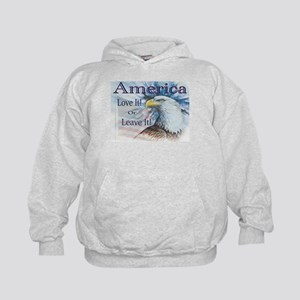 America Love It or Leave It Kids Hoodie